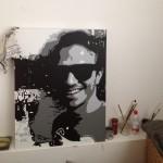 Jose gemaakt canvas schilderij