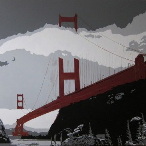 Golden Gate Bridge canvas